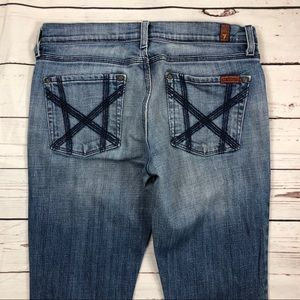Women's 7 For all Mankind Size 28 Slim Boot Jeans